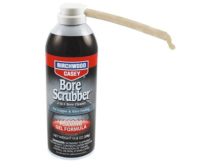 Birchwood Casey Bore Scrubber Foaming Gel Bore Cleaner 11.5 oz Aerosol