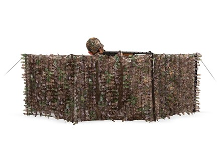 "Ameristep 3-D Edge ReLeaf Spur Ground Blind 27"" x 96"" Polyester Realtree Xtra Camo"