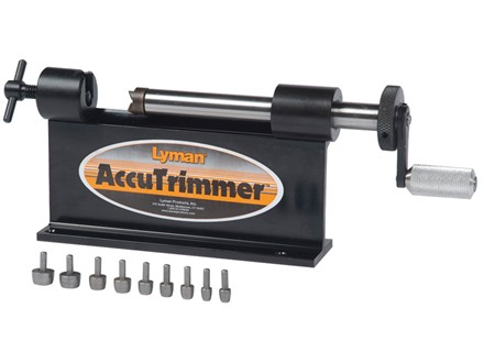 Lyman AccuTrimmer Kit with 9 Pilots