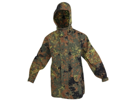 Military Surplus German Wet Weather Jacket Flectarn Camo Large