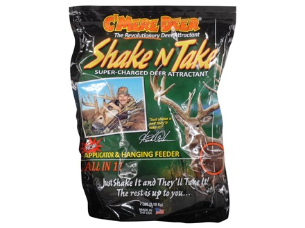 C'Mere Deer Shake'n Take Deer Attractant 7 lb Granular Bag