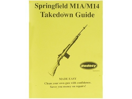 "Radocy Takedown Guide ""Springfield M1A/M14"""