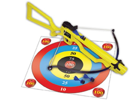 Arrow Precision Badger Toy Crossbow Polymer Yellow