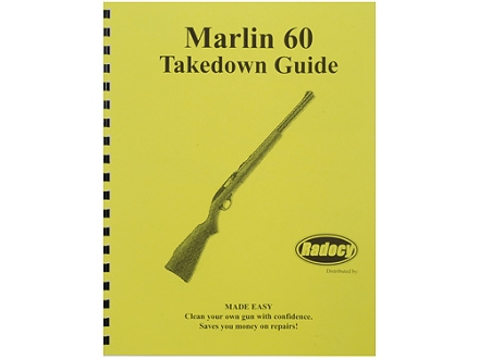 "Radocy Takedown Guide ""Marlin 60"""