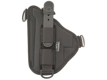 Bianchi 4620H Tuxedo Holster Beretta 92, Glock 17, 22, Ruger P89, Sig Sauer P220, P228, P229, Springfield XD9, XD40 Suede Lined Trilaminate Black