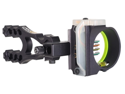 "Montana Black Gold Flashpoint HD 4-Pin Bow Sight .019"" Pin Diameter Right Hand Aluminum Black"