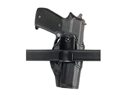Safariland 27 Inside-the-Waistband Holster Right Hand 1911 Government, Commander, Para-Ordance P-14, S&W 4013, 4053 Laminate Black