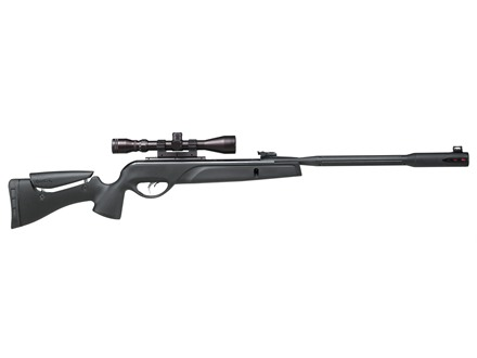 Gamo Whisper Fusion Air Rifle 177 Caliber Pellet Synthetic Stock Matte Barrel with 3-9x40mm Scope