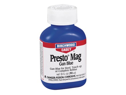 Birchwood Casey Presto Blue Magnum Cold Gun Blue 3 oz Liquid