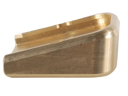 Taylor Freelance Extended Magazine Base Pad Glock 17, 22, 24, 26, 27, 31, 32, 33, 34, 35, 37 +0 Brass