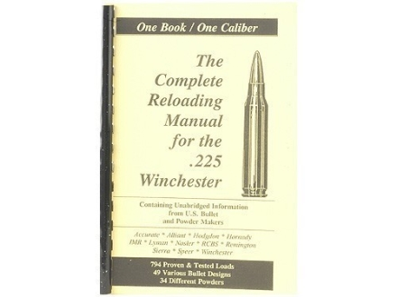 "Loadbooks USA ""225 Winchester"" Reloading Manual"