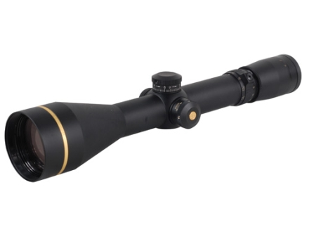 Leupold VX-3 Long Range Rifle Scope 30mm Tube 4.5-14x 50mm Custom Dial System (CDS) Side Focus Duplex Reticle Matte