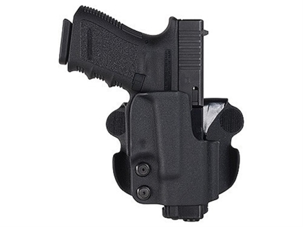 Comp-Tac Paddle Holster Straight Drop Right Hand 1911 Kydex Black