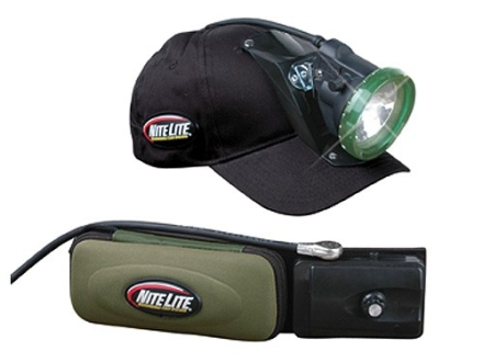 Nite Lite Extreme Belt Lite Pro 21 Rechargeable Headlamp Package 150,000 Candle Power Incandescent Bulb with Power Pack Black Medium (36-40)