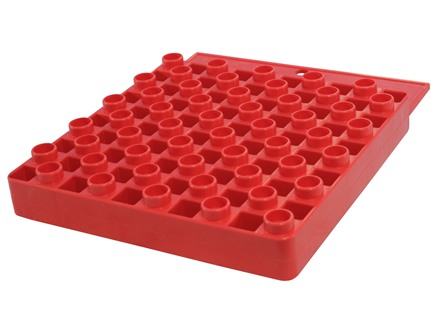 Hornady Universal Reloading Tray 50-Round Plastic Red