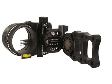 "T.R.U. Ball Axcel ArmourTech HD 5-Pin Bow Sight .019"" Pin Diameter Aluminum Black"