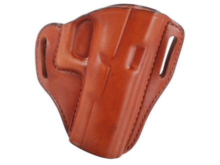 Bianchi 57 Remedy Outside the Waistband Holster Right Hand Glock 19, 23, 32 Leather Tan