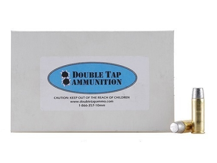 Doubletap Ammunition 45 Colt (Long Colt) +P 335 Grain Wide Flat Nose Gas Check