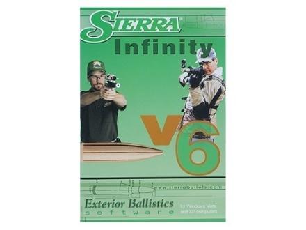 "Sierra ""Infinity Exterior Ballistic Software Version 6"" CD-ROM"