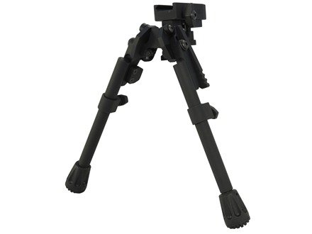 "GG&G XDS-2 Tactical Bipod Picatinny Rail Mount 8"" to 10.25"" Aluminum Black"