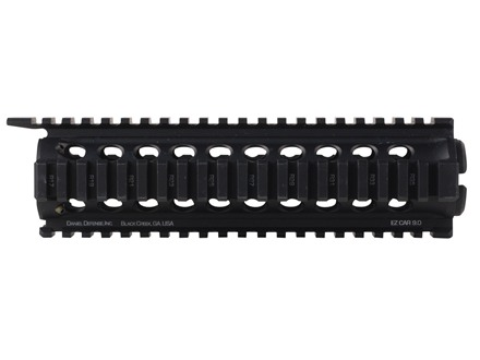 Daniel Defense EZ CAR 2-Piece Handguard Quad Rail AR-15 Aluminum Black