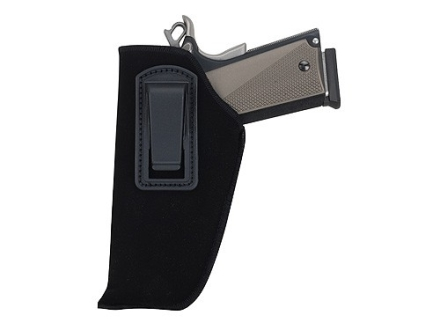 "BlackHawk Inside the Waistband Holster Large Frame Semi-Automatic 4.5"" to 5"" Barrel Ultra-Thin 4-Layer Laminate  Black"