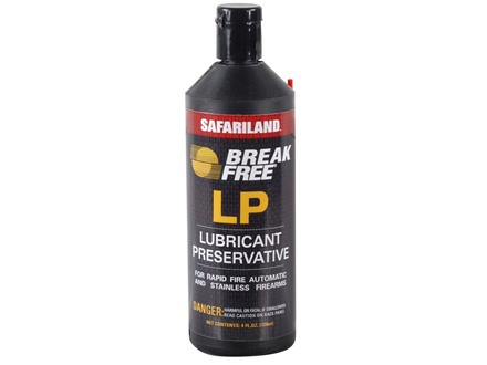 Break-Free Lubricant and Preservative Gun Oil 4 oz Liquid