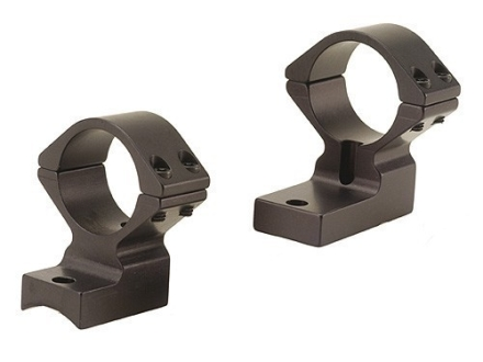 "Talley Lightweight 2-Piece Scope Mounts with Integral 1"" Rings Savage 10 Through 16, 110 Through 116 Flat Rear Matte High"