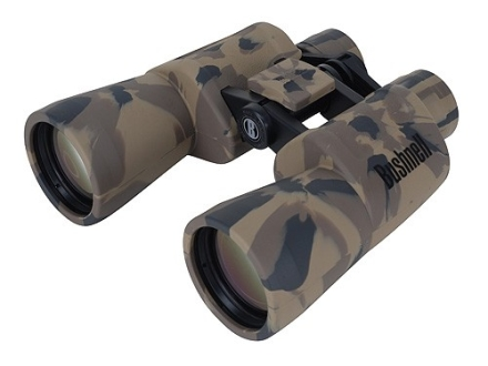 Bushnell Powerview Binocular 10x 50mm Instafocus Porro Prism Rubber Armored Camo