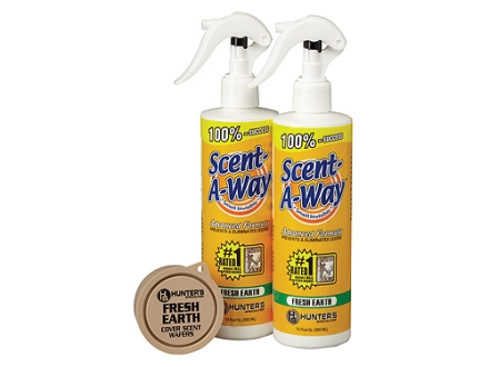 Hunter's Specialties Scent-A-Way Scent Elimination Fresh Earth Combo Pack