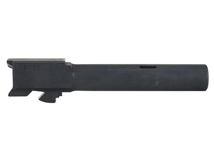 "Glock Barrel Glock 20C 10mm Auto 1 in 9.84"" Twist 4.60"" Carbon Steel Matte with Compensator"