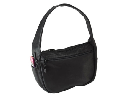 Galco Soltaire Conceal Carry Handbag Leather Black