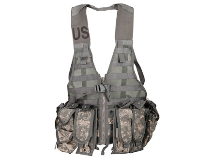 Surplus M.O.L.L.E. II Fighting Load Carrier (FLC) Vest Set Cordura with Nylon Webbing ACU Camo