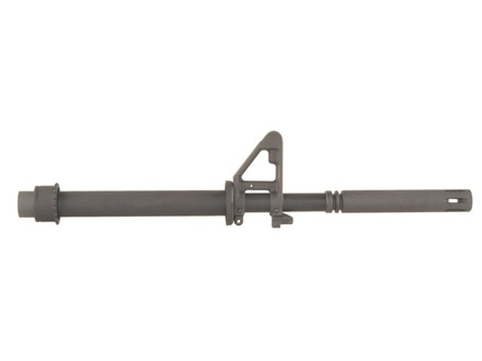 "DPMS Barrel AR-15 5.56x45mm NATO Carbine Contour 1 in 9"" Twist 16"" Chrome Moly Matte with Front Sight, Long Flash Hider"