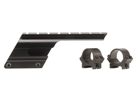 "B-Square Shotgun Saddle Mount with 1"" Rings Remington 1100 and 11-87 12, 16, 20 Gauge (Serial Number X/N) Matte"