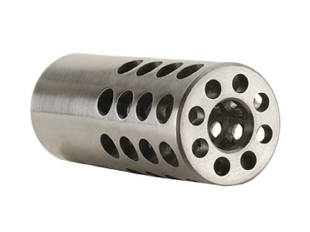 "Vais Muzzle Brake Micro 257 Caliber 1/2""-32 Thread .750"" Outside Diameter x 1.750"" Length Stainless Steel"