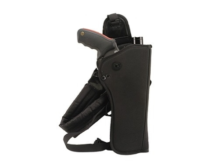 "Bianchi 4101 Ranger HuSH Rig (Holster and Harness) Right Hand Scoped Thompson Center Contender, Encore 12"" Barrel Nylon Black"