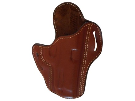 Ross Leather Pancake Belt Holster Right Hand 1911 Government Leather Tan