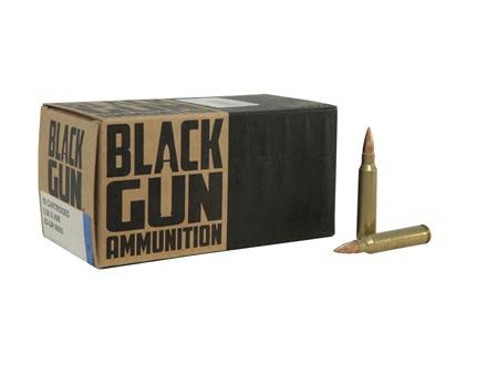 BlackGun Industries Remanufactured Ammunition 5.56x45mm NATO 62 Grain M855 SS109 Penetrator Full Metal Jacket