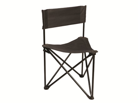 Hunter's Specialties Magnum Tripod Ground Hunting Blind Stool/Chair Polyester Black