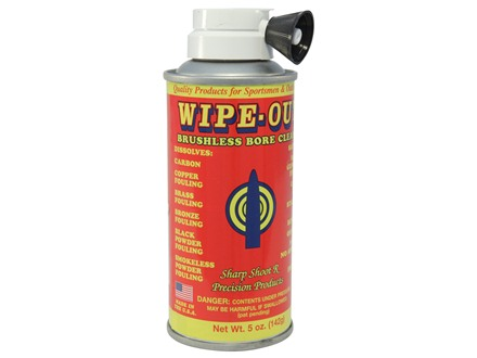 Sharp Shoot R Wipe-Out Brushless Foaming Bore Cleaning Solvent 5 oz Aerosol