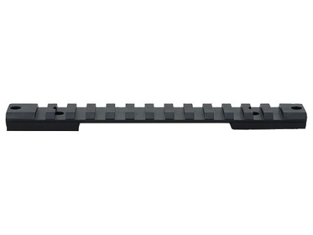 Warne 1-Piece Tactical Picatinny-Style Scope Base Savage 10 Through 16 Flat Rear Short Action Matte