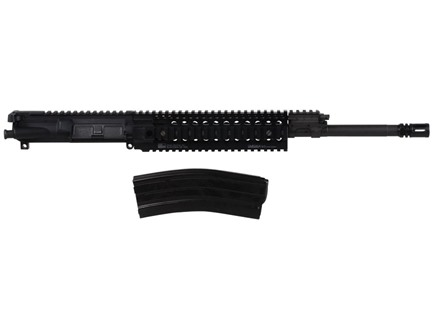 "Barrett AR-15 REC7 A3 Flat-Top Upper Assembly 6.8mm Remington SPC II 1 in 10"" Twist 16"" Barrel  Chrome Lined Chrome Moly Matte with Omega X Quad Rail Free Float Handguard, Flash Hider Pre-Ban"