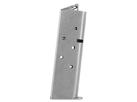 Colt Magazine 1911 Government 380 ACP 7-Round Stainless Steel