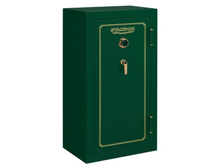 Stack-On Fire Resistant 24-Gun Safe with Combination Lock Matte Hunter Green