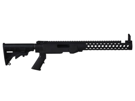 Troy Industries T22 TRX Extreme Sport Chassis Kit Ruger 10/22 Long Rifle Black