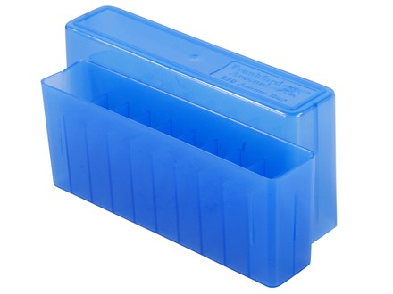 Frankford Arsenal Slip-Top Ammo Box #210 25-06 Remington, 270 Winchester, 30-06 Springfield 20-Round Plastic Blue Box of 10
