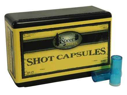 Speer Empty Shot Capsules 44 Caliber Box of 25