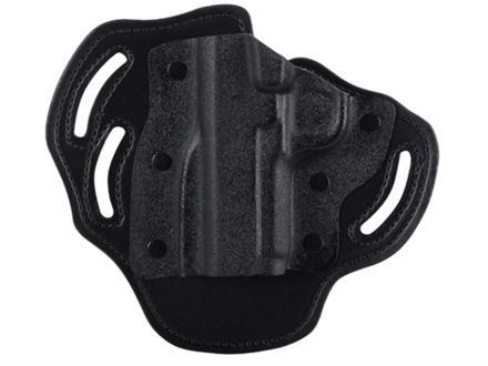 DeSantis Intimidator Outside the Waistband Holster Left Hand 1911 Government, Commander Kydex and Leather Black