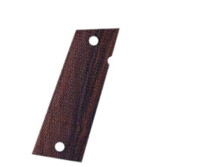 Hogue Fancy Hardwood Grips Caspian Double Stack Checkered Cocobolo